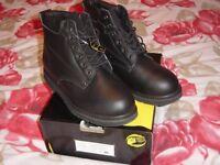 Safety Boots Namiwork Black Leather Size 13 EU 48