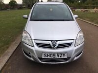 2009(09) VAUXHALL ZAFIRA LIFE 1.9 CDTI 120BHP SILVER S/H A/C LOW MILES DRIVES GOOD 6 SPEED LONG MOT
