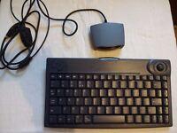 IR wireless keyboard/mouse combo