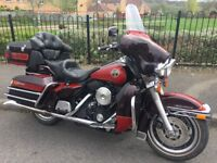 Electra Glide 1990 Less than 10000 miles suit enthusiast