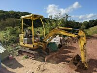Takeuchi TB016 Mini Digger Excavator