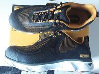 NEW Dewalt Safety Shoes in box.