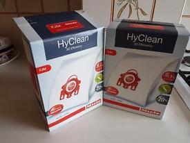 Miele Hoover Bags FJM HyClean 3D Efficiency