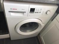 Bosch washing mashine VGC 9 months old