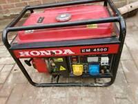 Honda EM 4500 petrol generator
