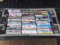 Job lot 130 DVD films / tv / comedy - ideal car boot stock