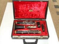 Evette and Chauffeur Buffet Crampion wooden Bflat clarinet + original case + vandoren b46 mouthpiece