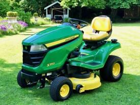"John Deere X350 Ride On Mower - 42"" Deck - Mulch control - Lawnmower - countax/ Kubota / Honda"