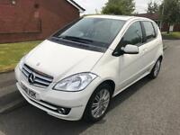 2010 Mercedes A class Diesel Automatic White Low Mileage