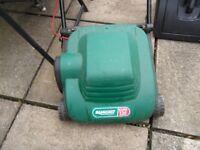 qualcast mower and grass box