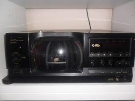 very rare pioneer 101 cd system