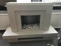 Stand alone electric fire