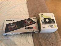 Numark Mixtrack Pro 3 with U-Cube Speakers