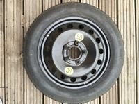 BMW space saver spare wheel - Continental, very good condition