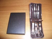 Finest Luxury Professional Manicure And Pedicure 8 Piece Brand New Set - BARGAIN - MUST GO