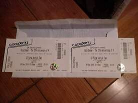 2 x Kula Shaker tickets, Thurs 8th Dec at the O2 Foum Kentish Town (standing) - £52.00 for the pair!