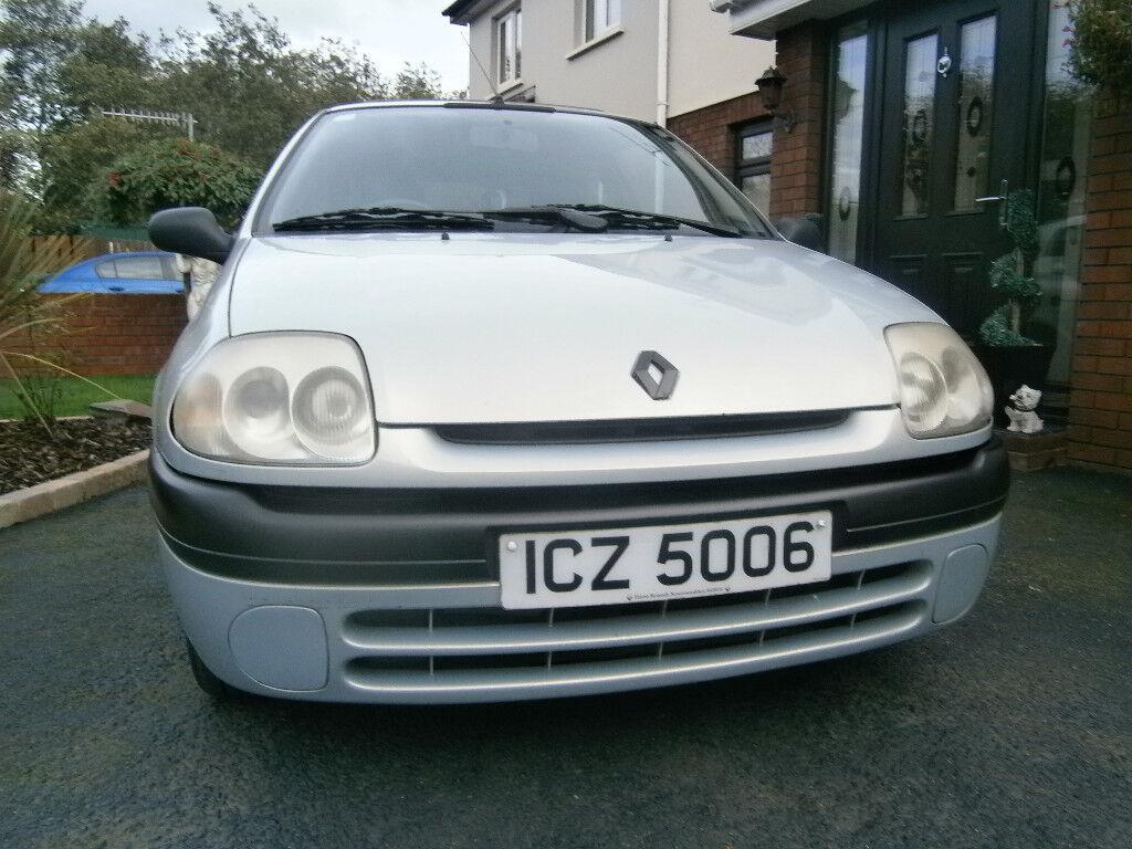 2001 Renault Clio RN 1.2 Petrol 3 Door Hatchback