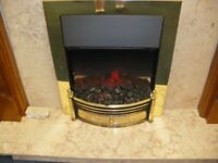 PLUG-IN ELECTRIC FIRE AND SURROUND at Haven Housing Trust's charity shop