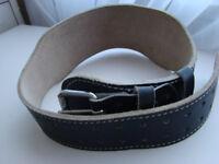Sports Men Weightlifting Belt Leather