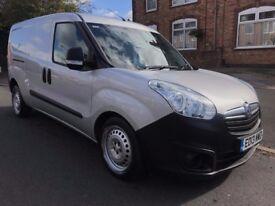 2013 13 Vauxhall Combo Maxi 1.6 CDTI ECO FLEX Stop/Start 105 BHP Long Wheel Base Silver Van NO VAT