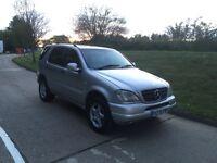 1999 Mercedes ml320 automatic, long mot low miles, FSH
