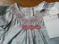 Baby girl clothes from Little White Company - 0-3 months - New with tags - dress