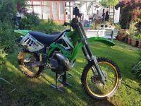 KX250 1998 Kawasaki 2 Stroke Motocross Bike