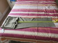 womens trouser, marks and spencers size 20 long, color stone mix