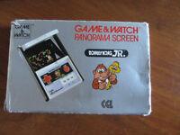 Rare Nintendo-Donkey-Kong-JR-CJ-93-PANORAMA-SCREEN-game-and-watch