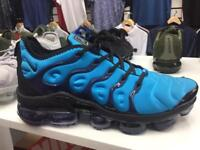 New Nike vapormax plus in blue sizes 6-11