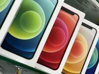 iPhone 12 Unlocked brands new box 1 year warranty