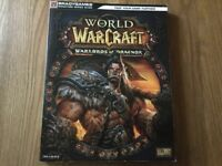 World of Warcraft Warlords of Draenor Strategy Guide Signature Series