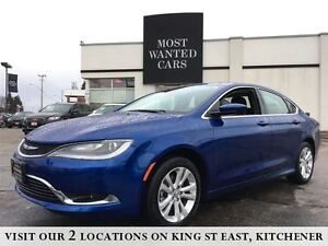 2016 Chrysler 200 Limited   BLUETOOTH   NO ACCIDENTS Kitchener / Waterloo Kitchener Area image 1