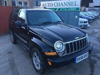 Jeep Cherokee 3.7 V6 Limited Station Wagon Auto 4x4 5dr£2,995 p/x welcome FREE WARRANTY. NEW MOT