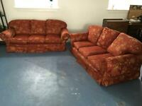 Matching 3 Seater Sofas