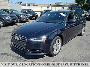 2013 Audi A4 2.0T Premium QUATTRO  | NAVIGATION | MOCHA LEATHER