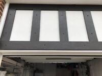 Used uPVC mock tudor boards in black