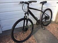 """Carrera Crossfire 2 Hybrid bike with front suspension (19""""-20"""", suits anyone around 5'10""""-6'1"""")"""