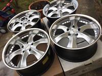 """Brand new 20"""" Audi Q7 Porsche alloy wheels 5x130"""