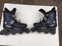 In Line Roller Skates size 8