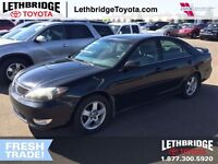 2005 Toyota Camry LOW KM'S, EXCELLENT SHAPE SE MODEL, LEATHER LO