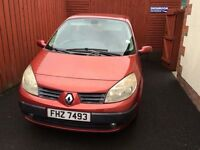 2004 Renault Scenic For Sale (Used, Needs Turbo)