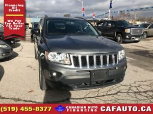 2012 Jeep Compass Sport   ROOF