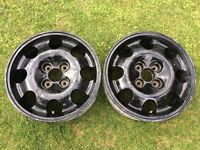 Peugeot 205 309 GTI alloy wheel, also fits Ford and Citroen