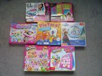 board games,shopkins 4 in 1 puzzle set.