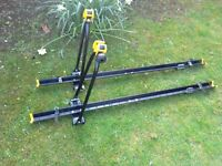 Two Cycle / Bike Carriers for car roof bar fitting