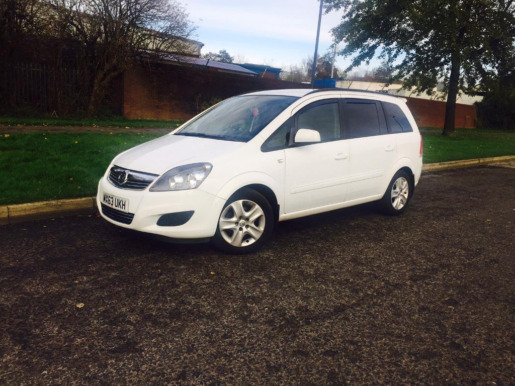 VAUXHALL ZAFIRA 1.6 exclusive 2013 7 SEATER 1 OWNER LOW MILES £6995 finance from £159p/m