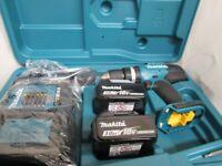 Drill, Make: MAKITA, Model: DHP453 CORDLESS HAMMER DRIVER DRILL,
