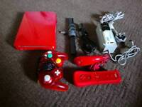 Nintendo Wii/Gamecube Red Limited edition