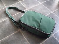 Small Padded Cool Bag / Packed Lunch Bag With Shoulder Strap